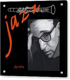 Woody Allen From Wild Man Blues Acrylic Print