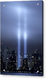 World Trade Center Memorial Lights Acrylic Print