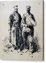 World War I, Poster Shows Wounded Acrylic Print by Everett