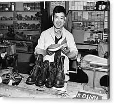 World War II, Mitsutaro Miyahara Acrylic Print by Everett