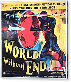 World Without End, Poster Art, 1956 Acrylic Print by Everett