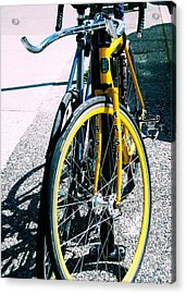 Worldly Cycle Acrylic Print by JAMART Photography