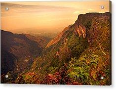 Worlds End. Horton Plains National Park. Sri Lanka Acrylic Print by Jenny Rainbow