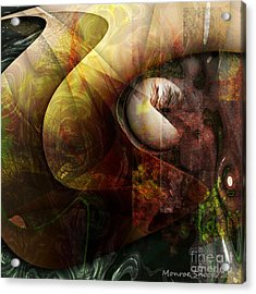 Worm Hole Acrylic Print by Monroe Snook