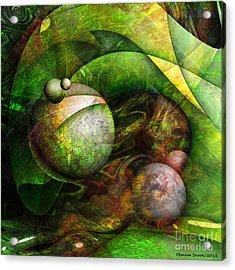 Wormwood Acrylic Print by Monroe Snook