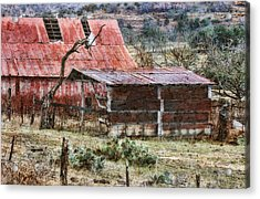 Acrylic Print featuring the photograph Worn Out by Joan Bertucci