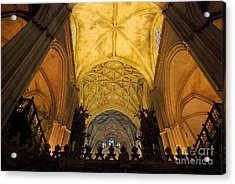 Worship Up Above  Acrylic Print by Perry Van Munster