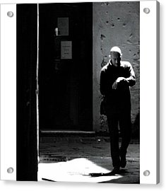 Would You Look At The Time #italy Acrylic Print