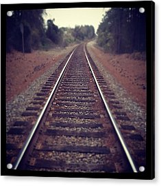 Would You Stand By Me? #travel #love Acrylic Print