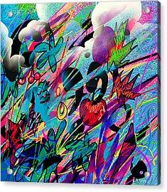 Wounded Fruit Acrylic Print by Rachel Christine Nowicki