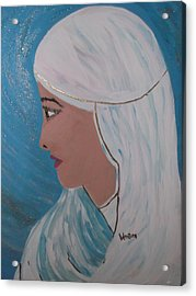 Wrapped In Silence Acrylic Print