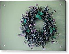 Wreath Acrylic Print by Brandon McNabb