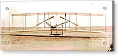 Wright Brothers 1903 Machine Acrylic Print