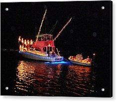 Wrightsville Beach Flotilla Acrylic Print