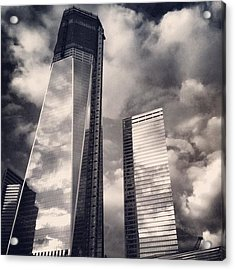 Wtc - New York Acrylic Print