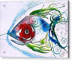 Wtfish 001 Acrylic Print