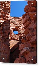 Wupatki Walls And Windows Acrylic Print