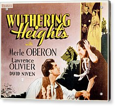 Wuthering Heights, Laurence Olivier Acrylic Print by Everett