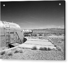 Ww1 Clean Steel Turret Sensor Acrylic Print by Jan W Faul