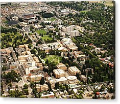 Wyoming Campus Aerial Acrylic Print