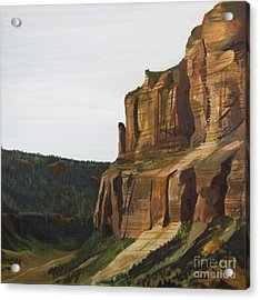 Wyoming Cliffs Acrylic Print