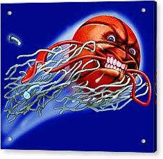 X-ball Acrylic Print by Harry West