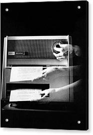 Xerox 813, The First Desktop Acrylic Print by Everett