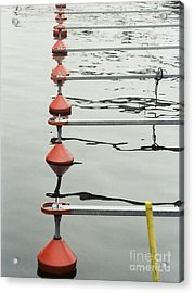 Acrylic Print featuring the photograph Yacht Quey by Agnieszka Kubica