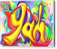 YAH Acrylic Print