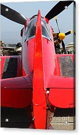 Yak 9u Airplane . 7d15803 Acrylic Print by Wingsdomain Art and Photography