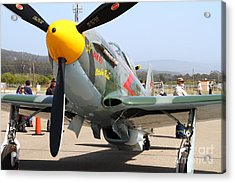Yak 9u Airplane . 7d15807 Acrylic Print by Wingsdomain Art and Photography