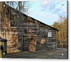 Y'all Come Back Acrylic Print by Sandra Anderson