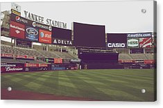 Yankee Stadium Acrylic Print by Michael Albright