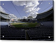 Yankee Stadium  Acrylic Print by Paul Plaine