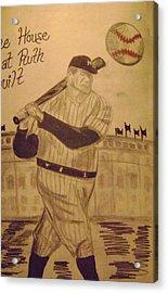 Yankees Acrylic Print by Paul Rapa