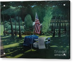 Yard Sale Acrylic Print by Stephen Remick