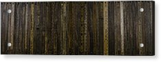 Acrylic Print featuring the painting Yardsticks - Aged 18 Inch by Kurt Olson