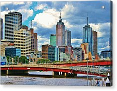 Yarra River City View Acrylic Print
