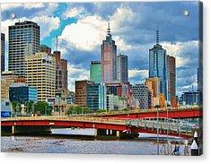 Yarra River City View Acrylic Print