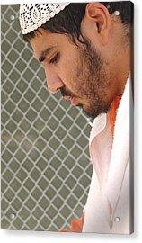 Yasser Esam Hamdi A Prisoner At Camp Acrylic Print