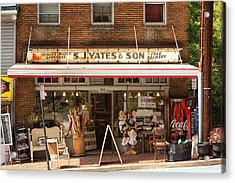 Yates Market Acrylic Print by Kenneth Losurdo