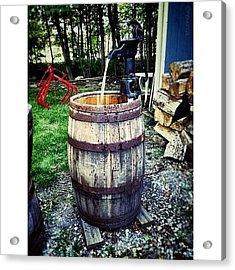 Ye Olde Water Pump Acrylic Print