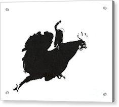 Yeehaaa Acrylic Print by Pixel Chimp