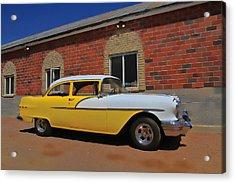 Yellow Beast Acrylic Print by Joel Witmeyer