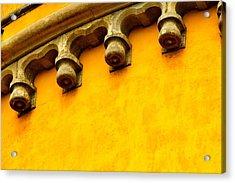 Yellow Castle Acrylic Print