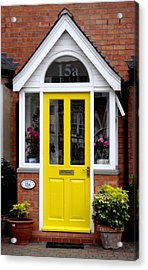 Yellow Door Acrylic Print