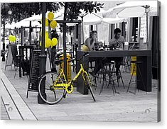 Yellow Acrylic Print by Graham Hawcroft pixsellpix