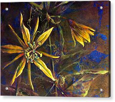 Yellow Passion Acrylic Print