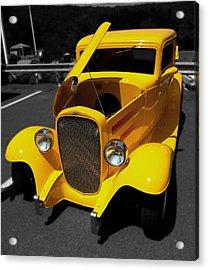 Yellow Rod Acrylic Print