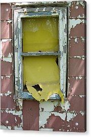 Yellow Shade Acrylic Print by Todd Sherlock